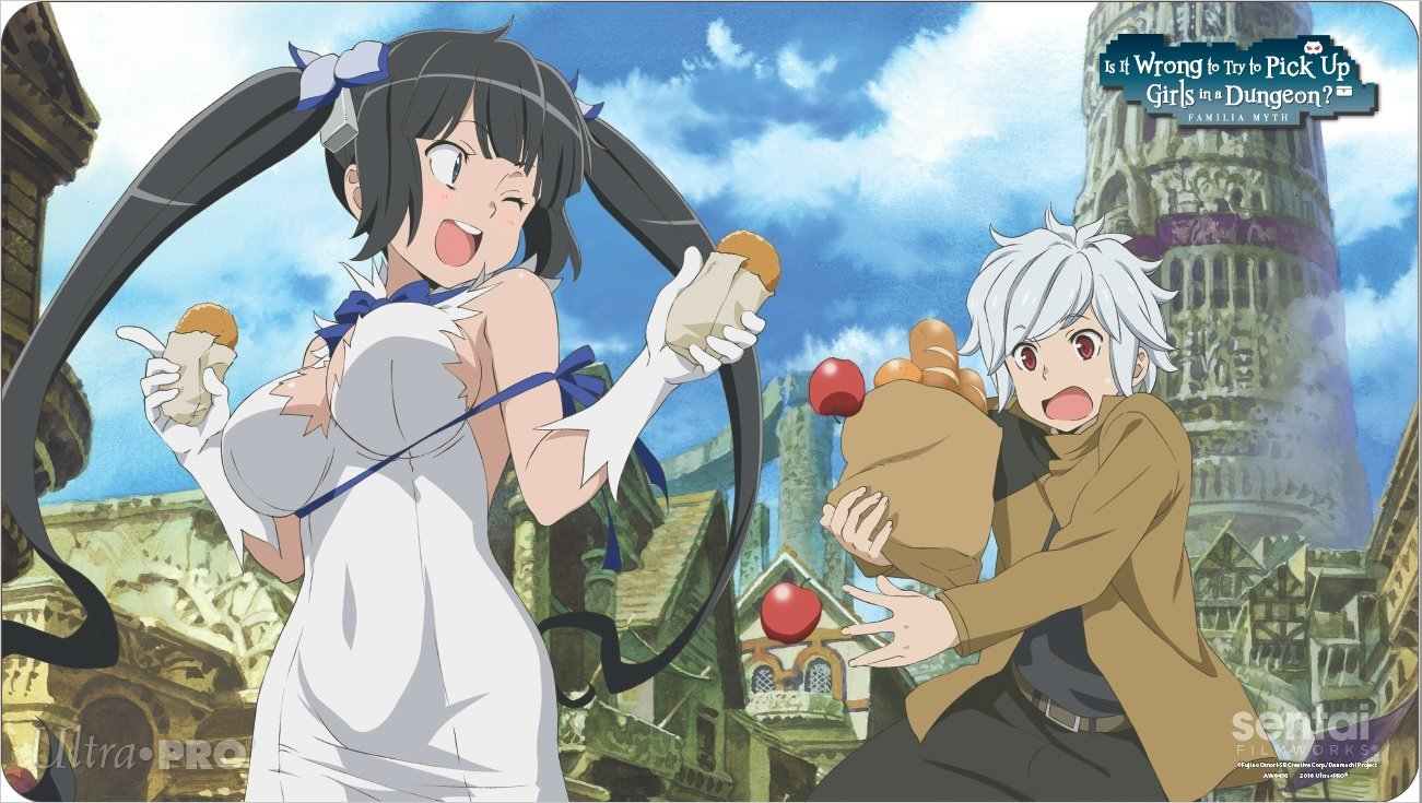 anime series like is it wrong to ty to pick up girls in a dungeon