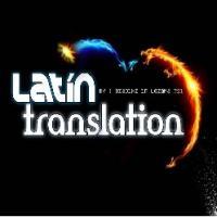Latín translation