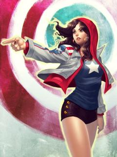 America Chavez Made In The USA