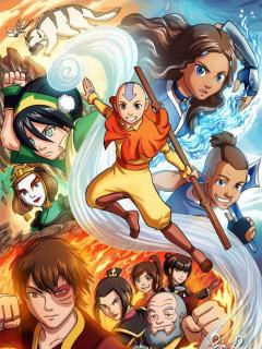 Avatar: The Last Airbender Novelas