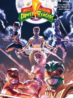 Power Rangers: Saga Black Dragon