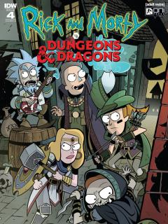 Rick And Morty Vs Dungeons