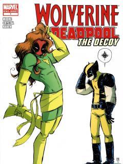 Wolverine Deadpool The Decoy