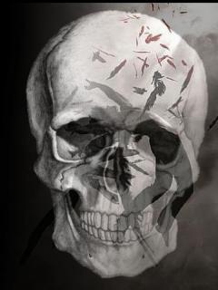 Caído Muerte, Resurrección Y Vuelo: Muerte.