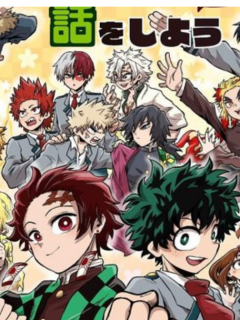 Crossover Kimetsu No Yaiba-Boku No Hero Academia