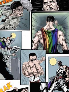 Комикс: GAY-MAN / ГЕЙ-МЕН