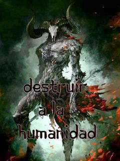 Destruir A La Humanidad (novela)