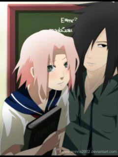 Naruto High School -- Alternative { Madara X Sakura }