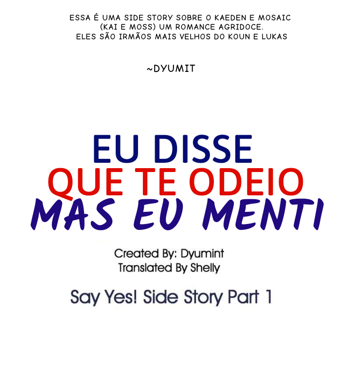 Say Yes ! Side story EXTRA